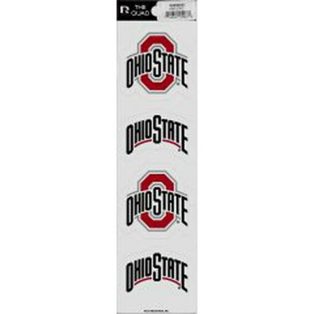 Ohio State Buckeyes Quad Decal Set