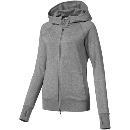 Puma Golf Women's 2019 Brisk Hoodie, Medium Gray Heather, Small - image 1 of 1