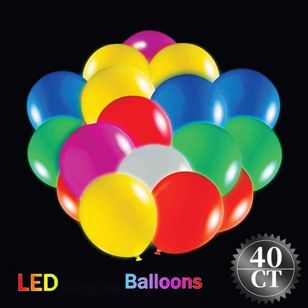 LED Light-Up Balloons 2019 Valentine's Day Party Lights Great Supplies Decorations for Wedding, Birthday Parties, Dance Party, Lasts 48 Hours, Assorted, 9in, 40ct - Party City Labor Day Hours