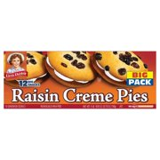 Little Debbie Raisin Crème Pies 12 ct
