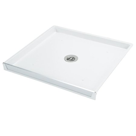 Mount Center Drain (Mustee 99 Durapan Drain Pan with Center Drain Outlet 32