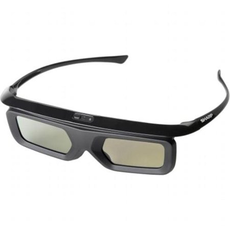 3D Active Glasses,100Hr.Battery,3D to 2D Switchable