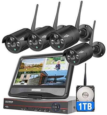 Hiseeu Wireless Security Camera System and 1080P Home Camera