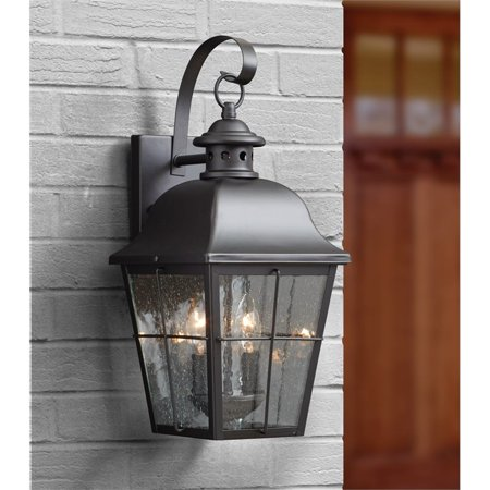 Quoizel Millhouse Medium Wall Lantern in Mystic Black - image 1 de 2