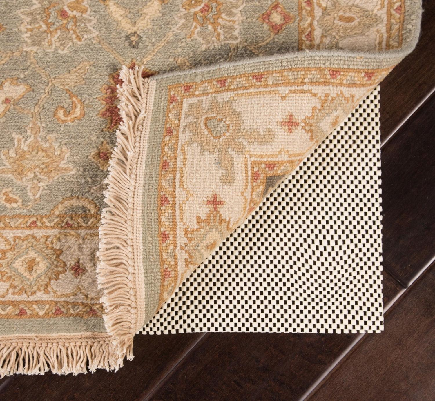Super Hold Open Weave PVC Pad for a 3' x 5' Area Throw Rug