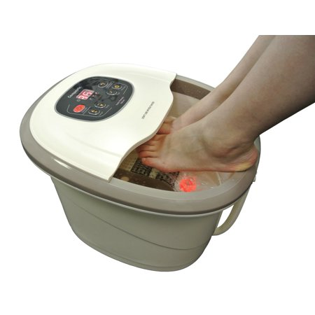 Carepeutic Motorized Hydro Therapy Foot and Leg Spa Bath Massager
