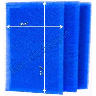 Dynamic Air Cleaner Replacement Filter Pads 20x30 Refills (3 Pack) ()