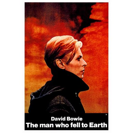 Pop Culture Graphics MOVAF8189 The Man Who Fell To Earth Movie Poster Print, 27 x 40 - image 1 of 1