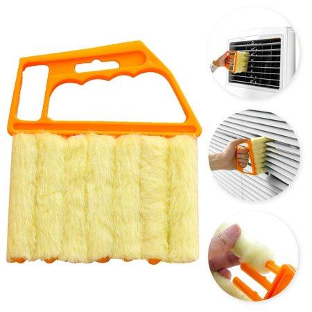 Mini Hand-held Cleaner,Venetian Blind Brush Window Air Conditioner Duster Cleaner ()