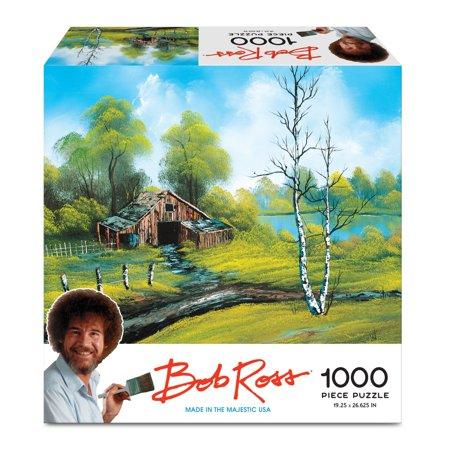 Bob Ross Puzzle (Roadside Barn)](4d Puzzle)