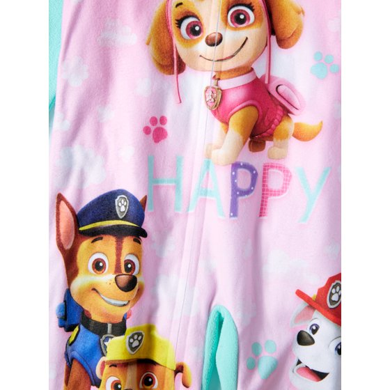 4dea62da6 AME - AME Paw Patrol Toddler Footed Pajamas Blanket Sleeper Marshall ...