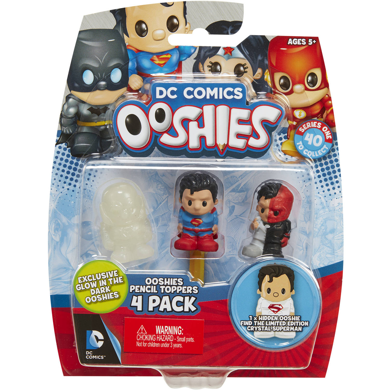 Ooshies Justice League 4-Packs #1