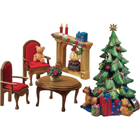 collections etc collectible miniature christmas furniture set - Www Collectionsetc Com Christmas