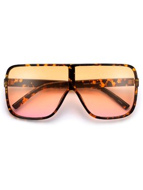 25916d7e1e Product Image Oversized 70mm Bold Visor Inspired Sunglasses. sunglass spot