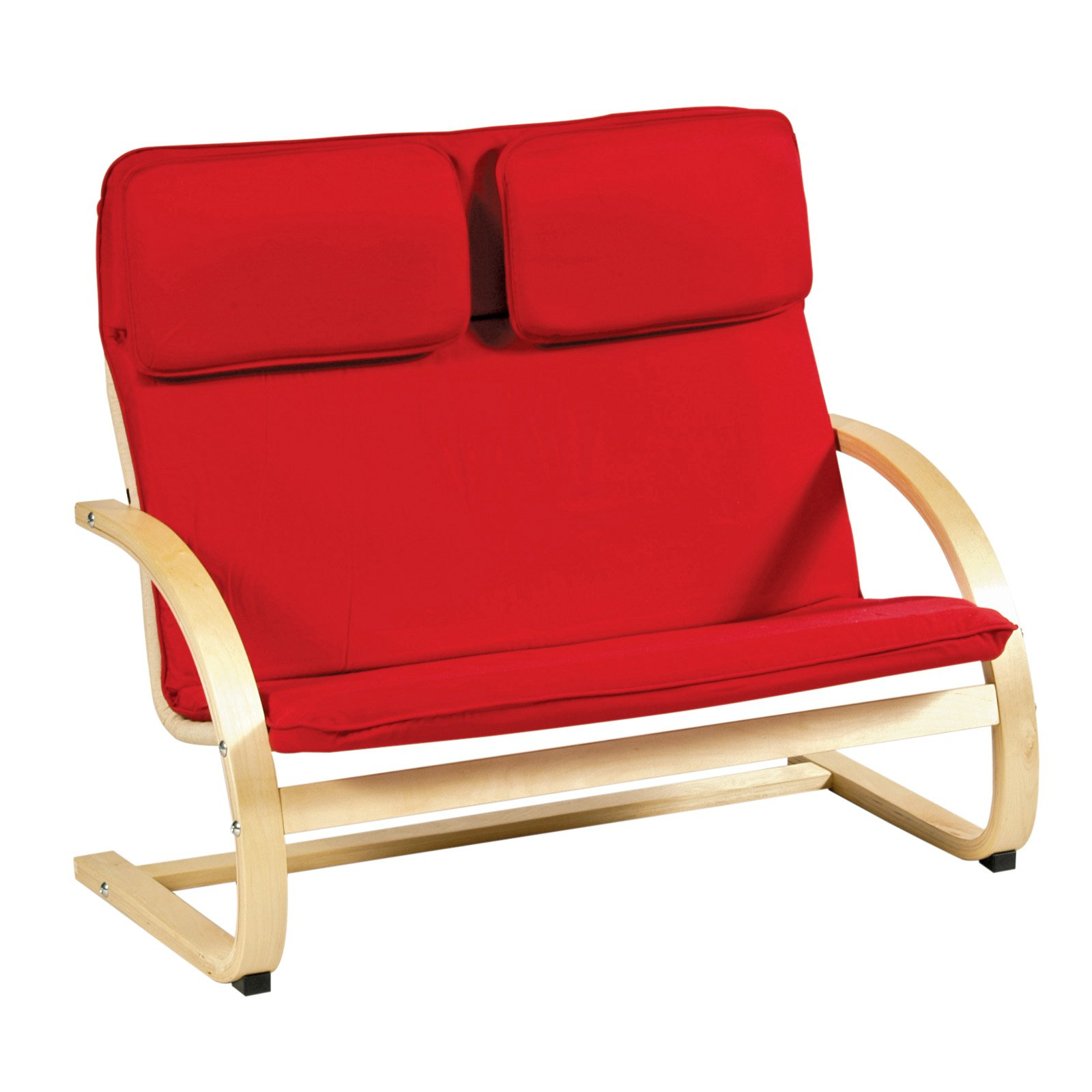 Guidecraft Kiddie Red Couch