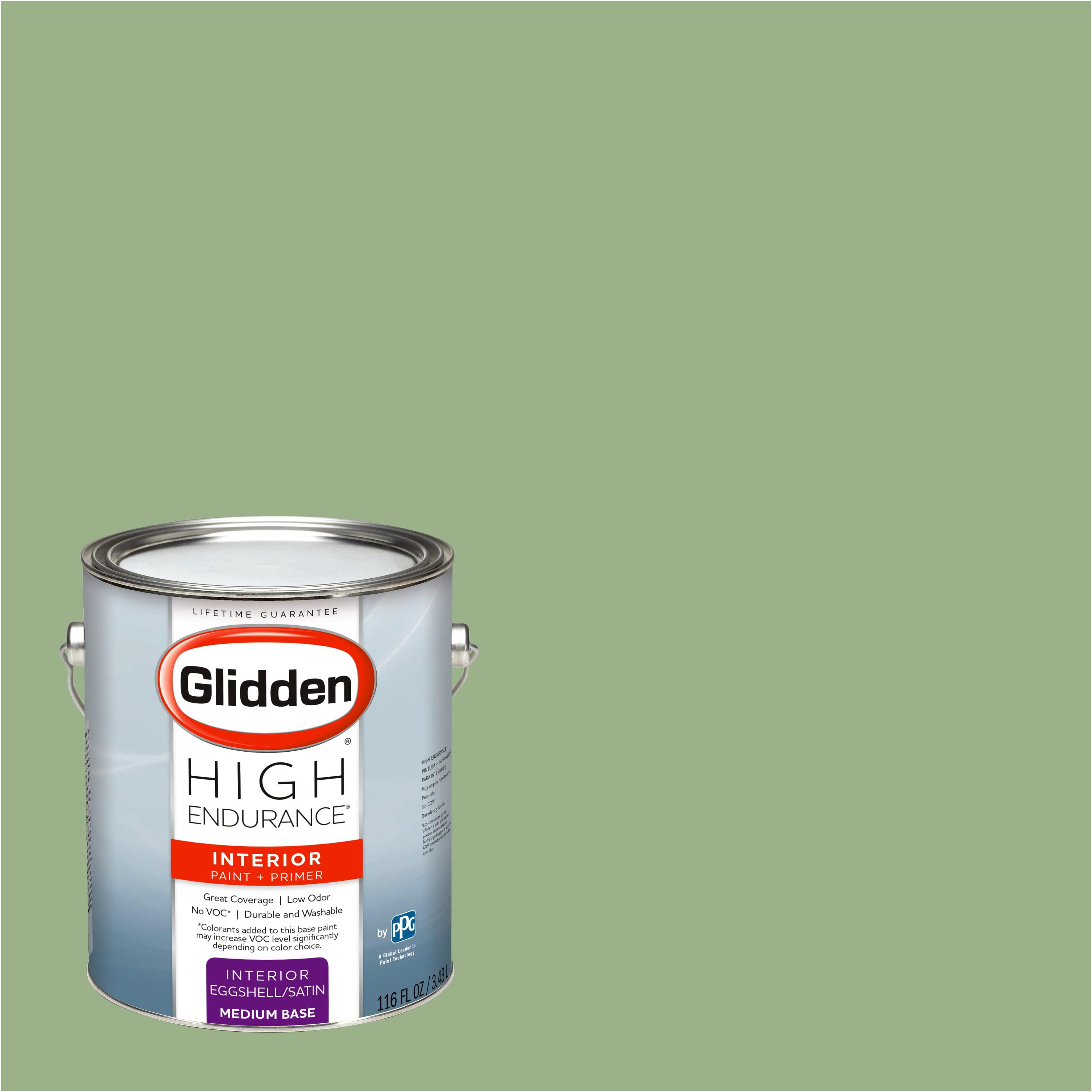 Glidden High Endurance, Interior Paint and Primer, Cloistered Garden Green, # 30GY 39/231