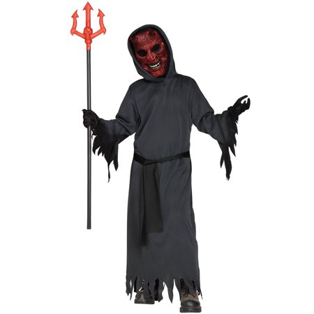 Smoldering Devil Boys Halloween Costume - Makeup Halloween Devil