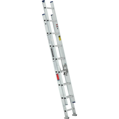 Louisville Ladder 16 ft. Aluminum Extension Ladder, Type III, 200 Lbs Load Capacity,... by Louisville Ladder