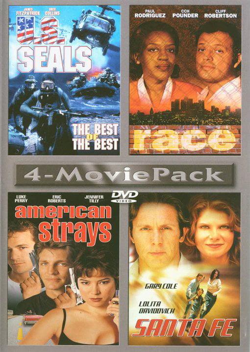 [4-Movie Pack] U.S. Seals   Race   American Strays   Santa Fe by