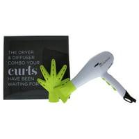 ($159 Value) Devacurl Hair Dryer & Devafuser