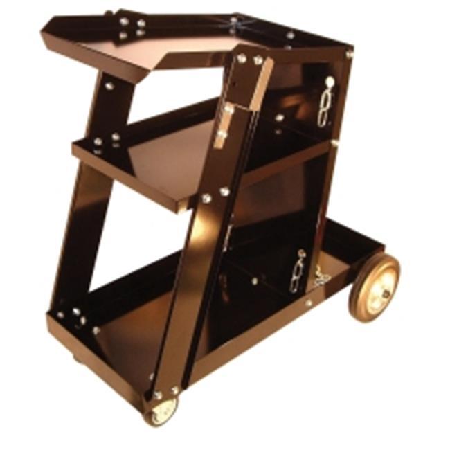 Mountain MTNWECART Heavy Duty 3-Shelf Portable Welding Cart