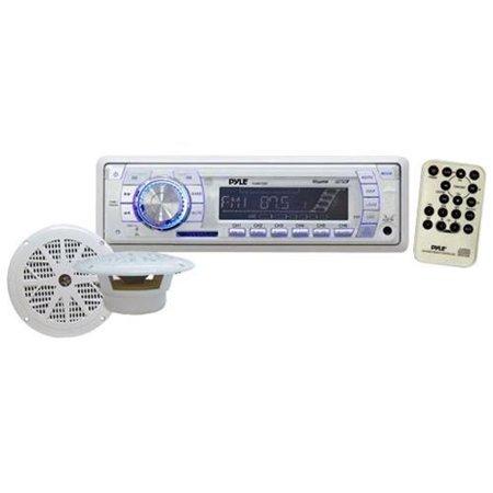 Pyle Plmrkt33wt Marine Stereo Speaker System