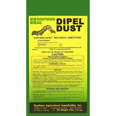 Dipel Dust 25Lb Bag Biological Insecticide