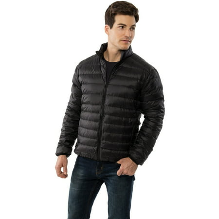Niko Men's Down Jacket Puffer Bubble Coat Packable Light Warm (Best Packable Puffer Jacket)
