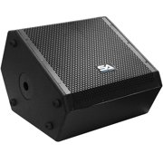 Seismic Audio - SAX-15M - Compact 15 Inch 2-Way Coaxial Floor / Stage Monitor with Titanium Horn - 300 Watts RMS - PA/DJ Stage, Studio, Live Sound 15 Inch Monitor