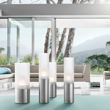 Blomus Faro Floor Tealight Candle Holder Set - Set of 3