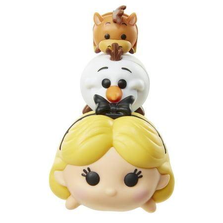 Tsum Tsum 3-Pack Figures - Alice/Olaf/Bullseye