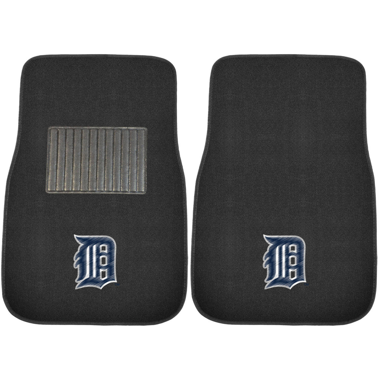 MLB Detroit Tigers Embroidered Car Mats