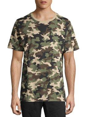 No Boundaries Men's All Over Print Graphic T-shirt