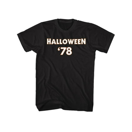 Halloween Scary Horror Slasher Movie 1978 Michael Meyers F & B Adult T-Shirt Tee
