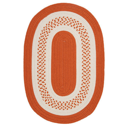 Colonial Mills Crescent Orange Indoor/Outdoor Rug
