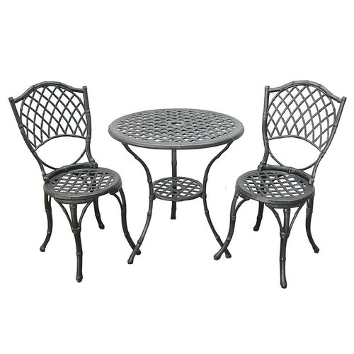 Innova C663 Bamboo 3-Piece Outdoor Bistro Set
