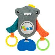 Sassy Peek & Squeak Shark Hanging Stroller Baby Toy - 0+ Months