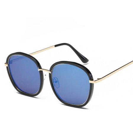 2186 Fashion Woman Man Sunglasses Stylish Oversize Glasses Hardening Eyewear - image 2 of 8