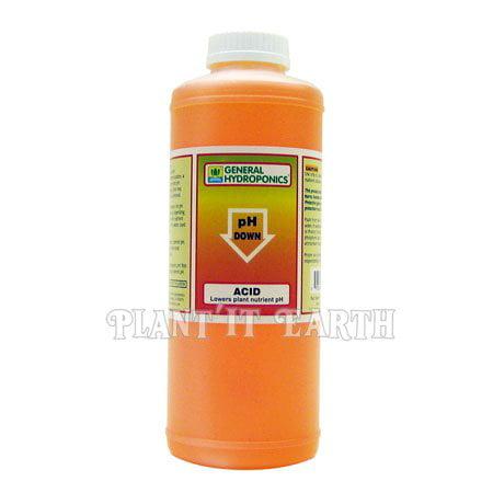 General Hydroponics pH Down - 1 Quart