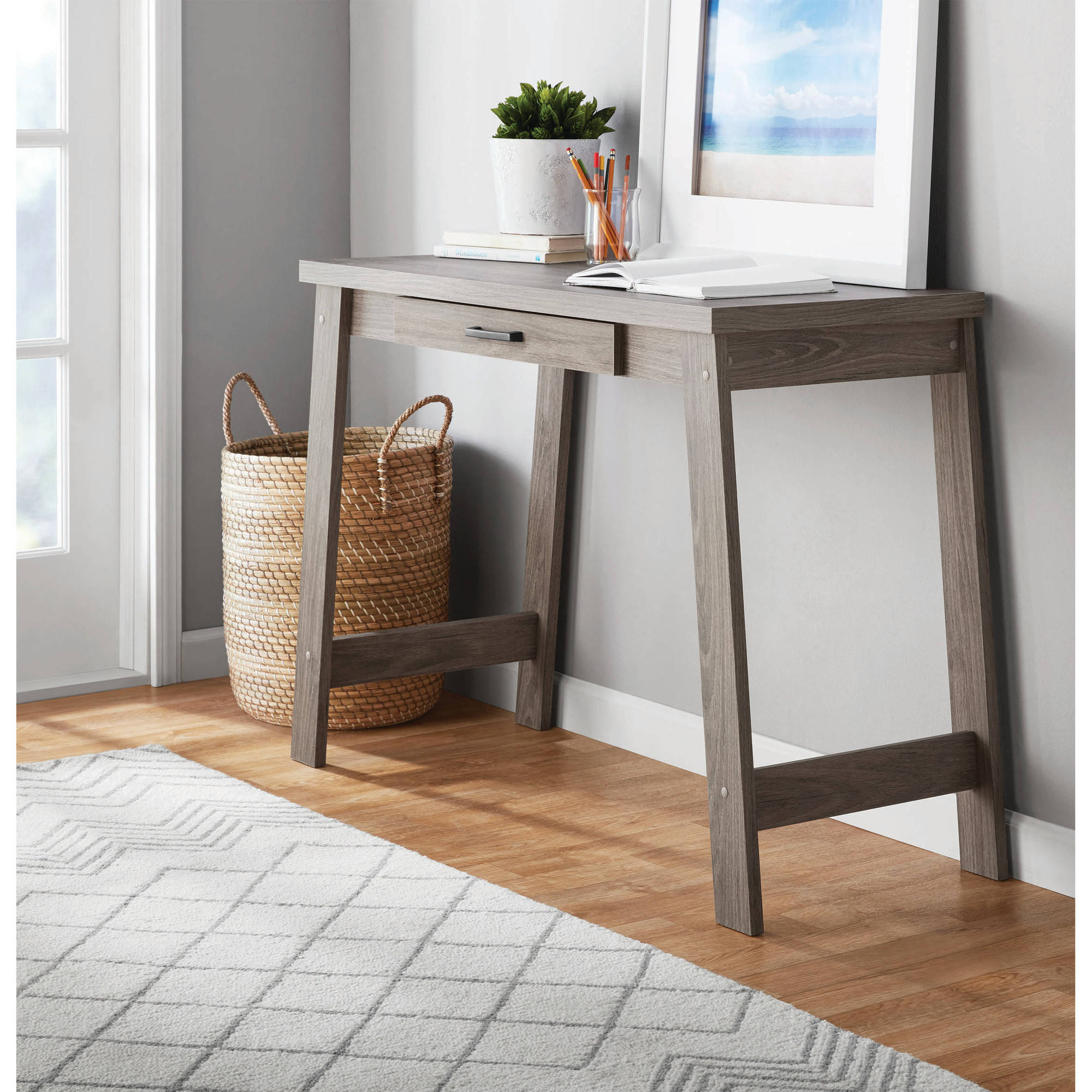 Mainstays Logan Writing Desk, Multiple Finishes