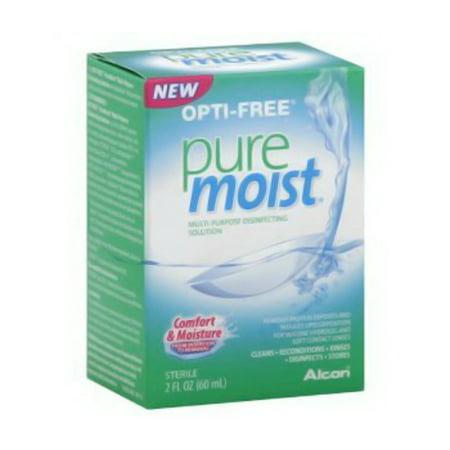Opti-Free Pure Moist Multi-Purpose Disinfecting Solution - 4 Oz, 2 Pack