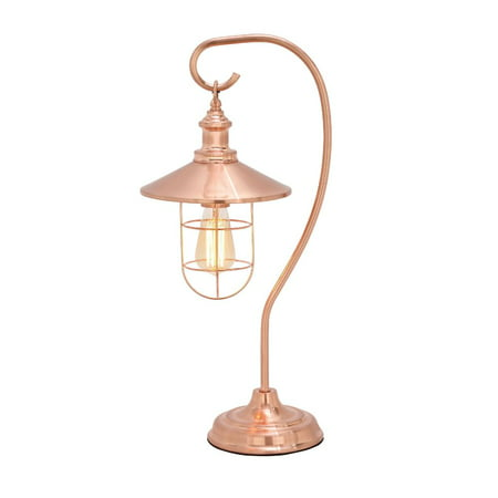 Cooper Metal Table Lamp (Magnificent Metal Copper Table Lamp With Bulb )