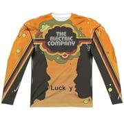 Electric Company Silhouette Blend (FB Print) Mens LS Sublimation Shirt