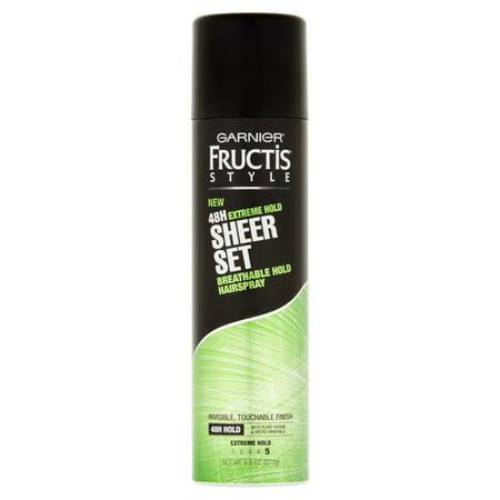 Garnier Fructis Style Extreme Set Tenir Sheer Tenir respirante Hairspray, 9,5 oz