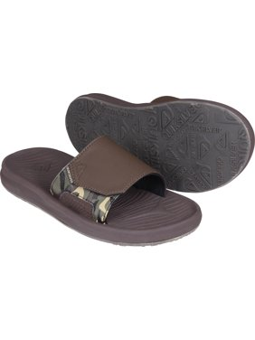 6ae24309356 Product Image Quiksilver Mens Travel Oasis Slide Sandals - Brown