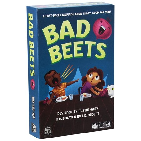 Bad Beets Card Game  A Bluffing Game That Is Fun For People New To Gaming And To Experienced Pros Alike  By Stoneblade Entertainment