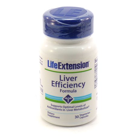 Liver Efficiency Formula By Life Extension - 30 Veg