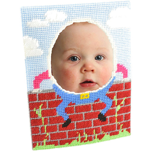 "Humpty Dumpty Framous Plastic Canvas Kit-8""X5.9"""