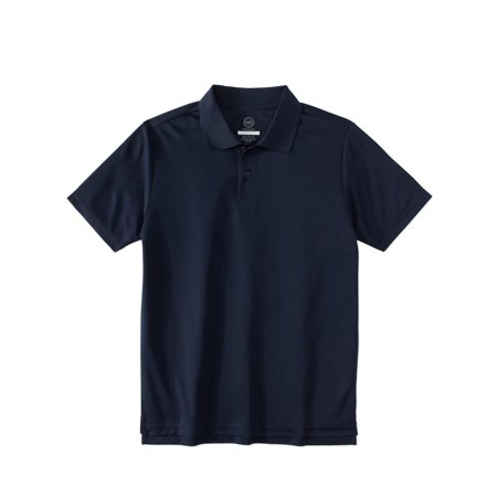 Wonder Nation School Uniform Short Sleeve Performance Polo (Little Boys & Big Boys)