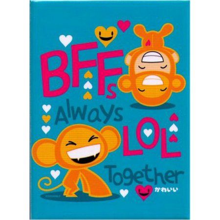Zoodorable Best Friends Always LOL Together Magnet